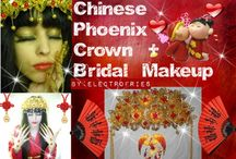 Chinese Bridal Phoenix Crown / Chinese Bridal Phoenix Crown tutorials and lookbooks