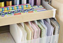 Organization - Craft Storage
