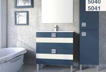 Yuli / La peculiaridad de este mueble de baño reside en el detalle de la franja que aparece en los cajones.  Un diseño cuadrado, moderno y funcional, listo para adaptarse a cualquiera que sea tu estilo.