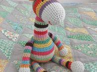 Giraffe crochet