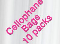Self-Sealing Cello Bags / Our self sealing flat cellophane bags are perfect for fliers, brochures, invitations, postcards, greeting cards, training packets, newletters, hostess packets, recruiting packets or glamour books. Great for handing out samples, business cards, Cd's or info. All of our cello bags are Food Safe!
