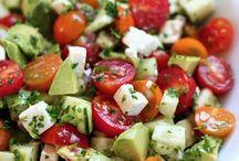 Gezond eten-Salade