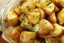 Potatoes, Rice, Quiches & Frittatas.... / Starchy, carby....but OH, so good~ / by Iris Barker Cowl