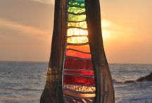 Stained glass and suncatcher / Beautiful when the sun is passing through :)