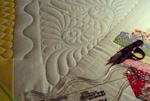 Needle little inspiration? / Machine quilting  / by laugh yourself into Stitches*