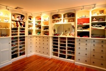 I will have a custom closet one day / by Brandie Siers