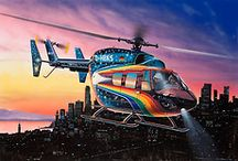 Helikoptery do sklejania