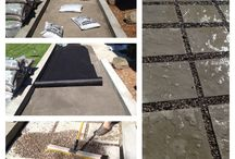 Stone Patio Ideas / by Rebecca Ramos
