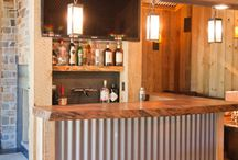 bar room ideas / by Michelle Munson George