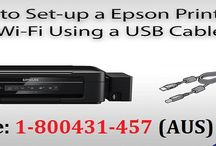 Call 1-800431457 to Connect Epson Printer to New Wi-Fi Network