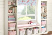 Baby girl nursery / by Sarah Haimann