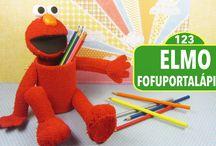 Elmo Fofuportalápices