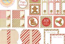 Boże Narodzenie scrapbooking i cardmaking