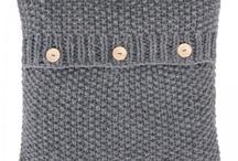 Coixins de llana | Yarn cushions