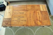 Wine crate ideas / by Beth Foley