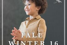 Fall Winter 2016 / Our new collection for stylish kids, warm and poetic winter from Paris.