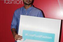 Fluid Fashionistas / #LivaFluidFashion bloggers posing!