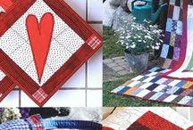 Knihy o šití / Knihy o šití a patchworku, handmade tvorba,  Books on sewing, patchwork and handmade products