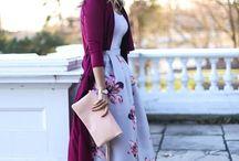 Šaty - sukně
