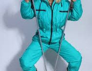Down Ski Suit 70s 80s 90s 00s