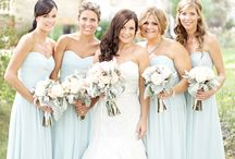 Wedding Colours: Soft Blue / Something blue on your wedding day