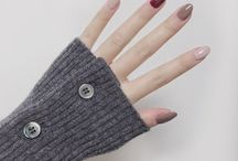 autumn manicure