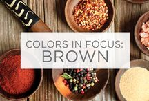 Colors in Focus: Brown / In mahogany, chocolate, coffee and many more, earthy brown tones are all around. / by Valspar