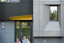 Fibre cement elevation