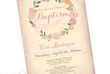 Milla baptism ideas♡