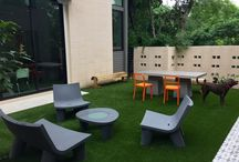 Cool Courtyards / Cool designs for courtyards and outdoor spaces.