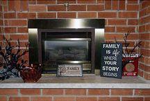 Spaces: Cozy Fireplaces