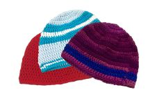 Crocheted Beanies / Free crochet patterns for beanies; specifically designed for tender post-chemo scalps.