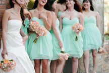Light pink mint Wedding