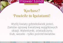 Flower Land / Wedding decorations by Hubert Lamański
