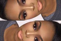Maquiagem afro-americana