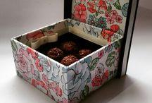 Caixas de MDF decoradas / Decoração em MDF