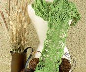 crochet - scarf