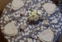 My Mise en table / Le mie tavole