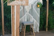 Photobooth pour mariage tropical / Tropical wedding photo booth