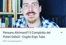 Instagram È uscito il nuovo #CogitoErgoTube! Ed è scoppiettante! :D