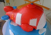 Helicopter cakes