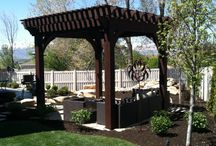 Pergola Designs / Our Aeroscape team includes Landscape Architects, Horticulturists, Project Managers, Certified Landscape and Irrigation Technicians, and Veteran Landscape installation crews that not only address immediate project needs, but also offer a cutting-edge style to the clients outdoor spaces that will stand the test of time. www.aeroscapeutah.com