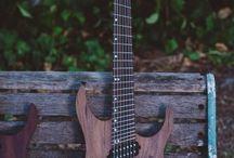walnut top guitars