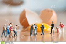Miniatures / Miniature Figurine Dioramas
