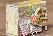 matchbox milk & sm boxes / by Linda Carter