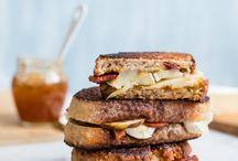 delish:  soups, stews & sandwiches / by Amy Tsuruta