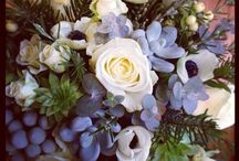 Our flowers... / We're flower lovers with an undying passion for designing gorgeous wedding florals...