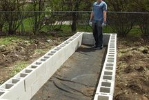 tuin: raised beds