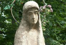 DIY - Garden statues