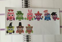 Planner Stickers / Stickers for your planner / by Cindys Perfect Paper Crafting